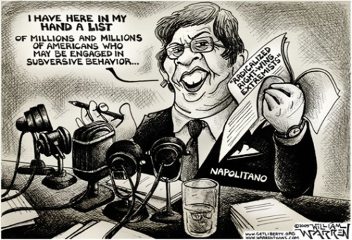 Napolitano and Her List